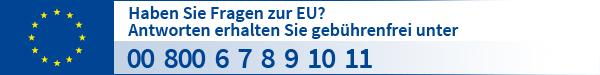 Bürgertelefon vom Europe Direct