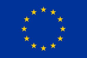 Flagge der Europäischen Union ein Symbol für die EU