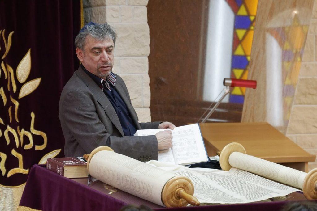Juri Rosov, Vorsitzende der Jüdischen Gemeinde