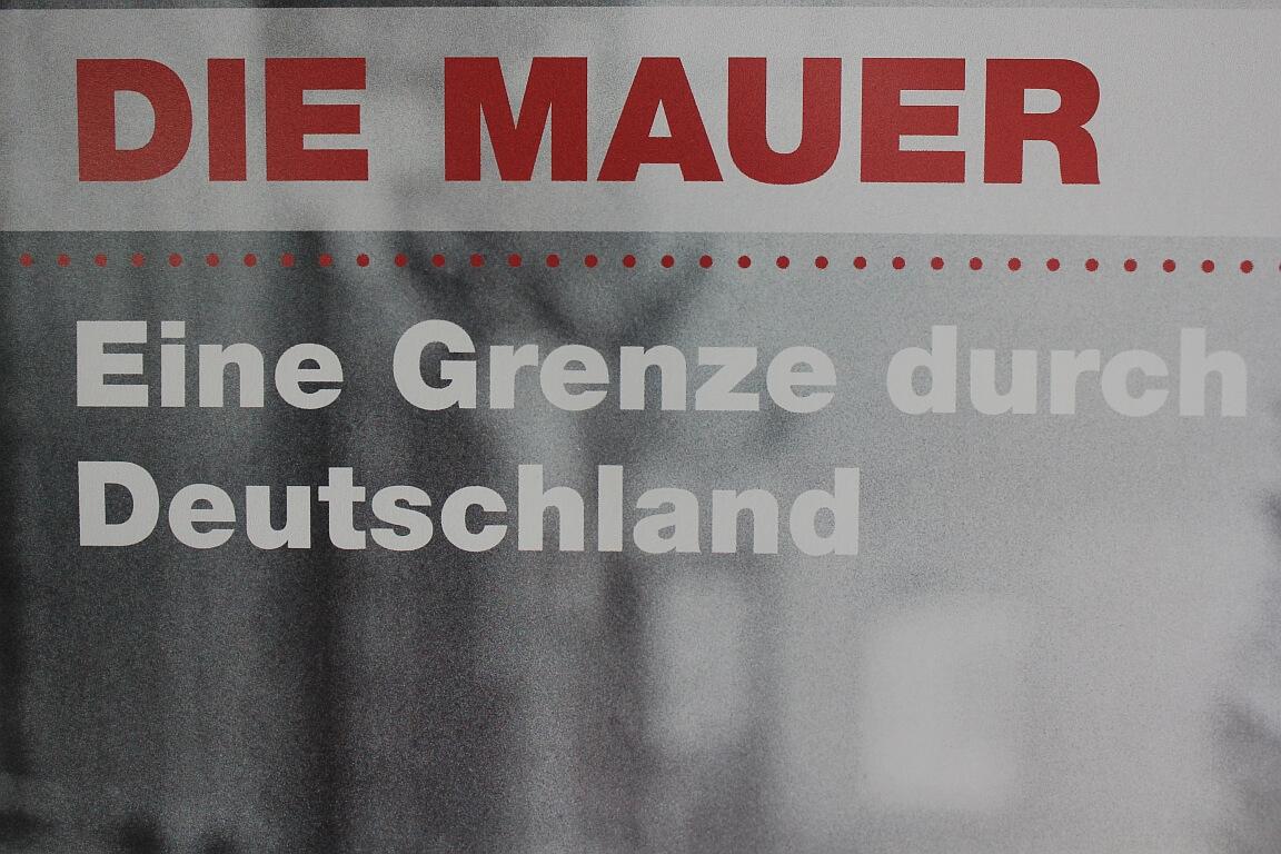 Ausstellung zur Mauer in Rostock