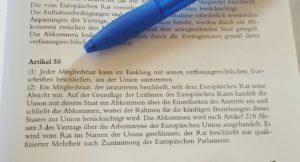 Austrittsklausel - Artikel 50 regelt Ablauf des EU-Austritts