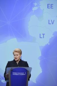 Dalia Grybauskaité/ Litauen