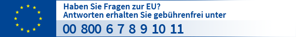 Bürgertelefon vom Europe Direct