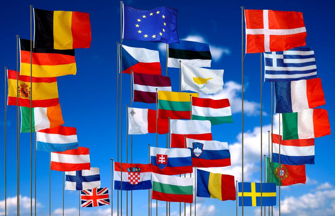 flaggen der länder der europäischen union  eiz rostock
