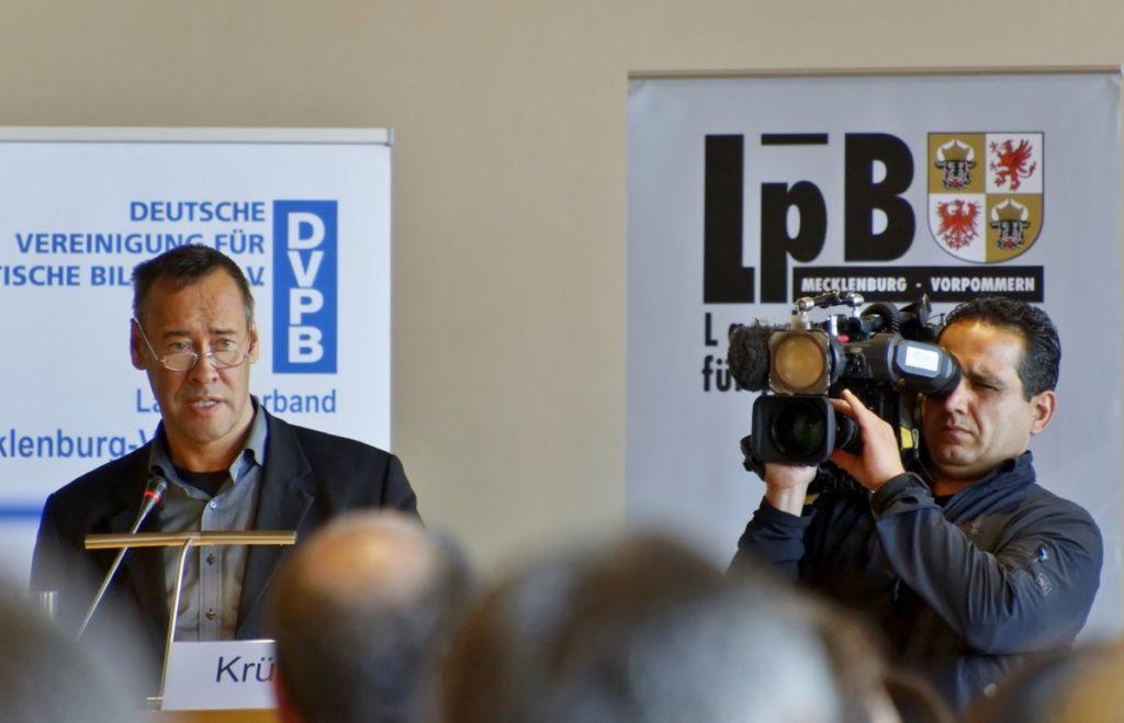 Thomas Krüger, Präsidenten der Bundeszentrale für Politische Bildung,