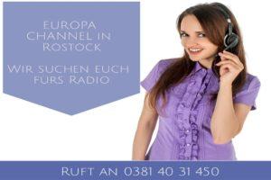 Wir starten mit dem Europa Channel im Radio