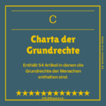 Gilt seit 2009 - die Charta der Grundrechte