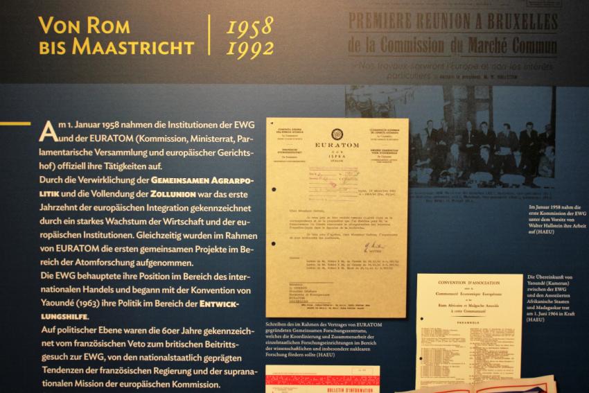 EU Geschichte Römische Verträge