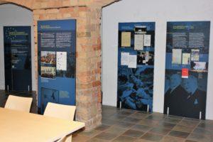 15 Wandtafeln informieren über die Römischen Verträge