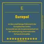 Europol im Europa ABC vom EIZ rostock