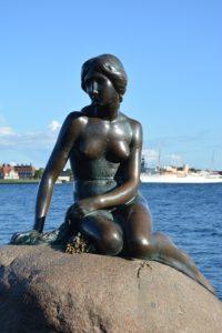 In Kopenhagen zu finden - die Kleine Meerjungfrau