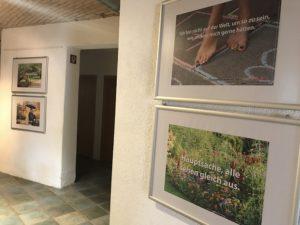 """Die Ausstellung """"bunt ist schöner"""" im Haus Europa"""