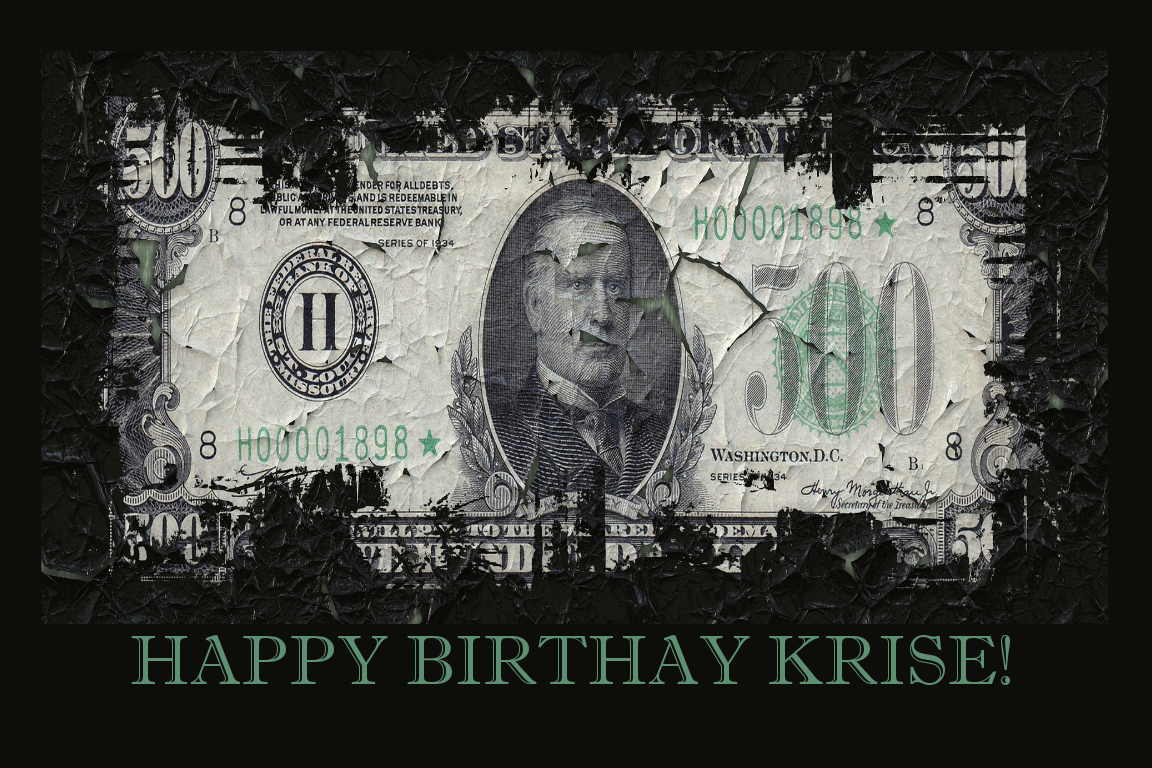 Happy Birthday Krise!