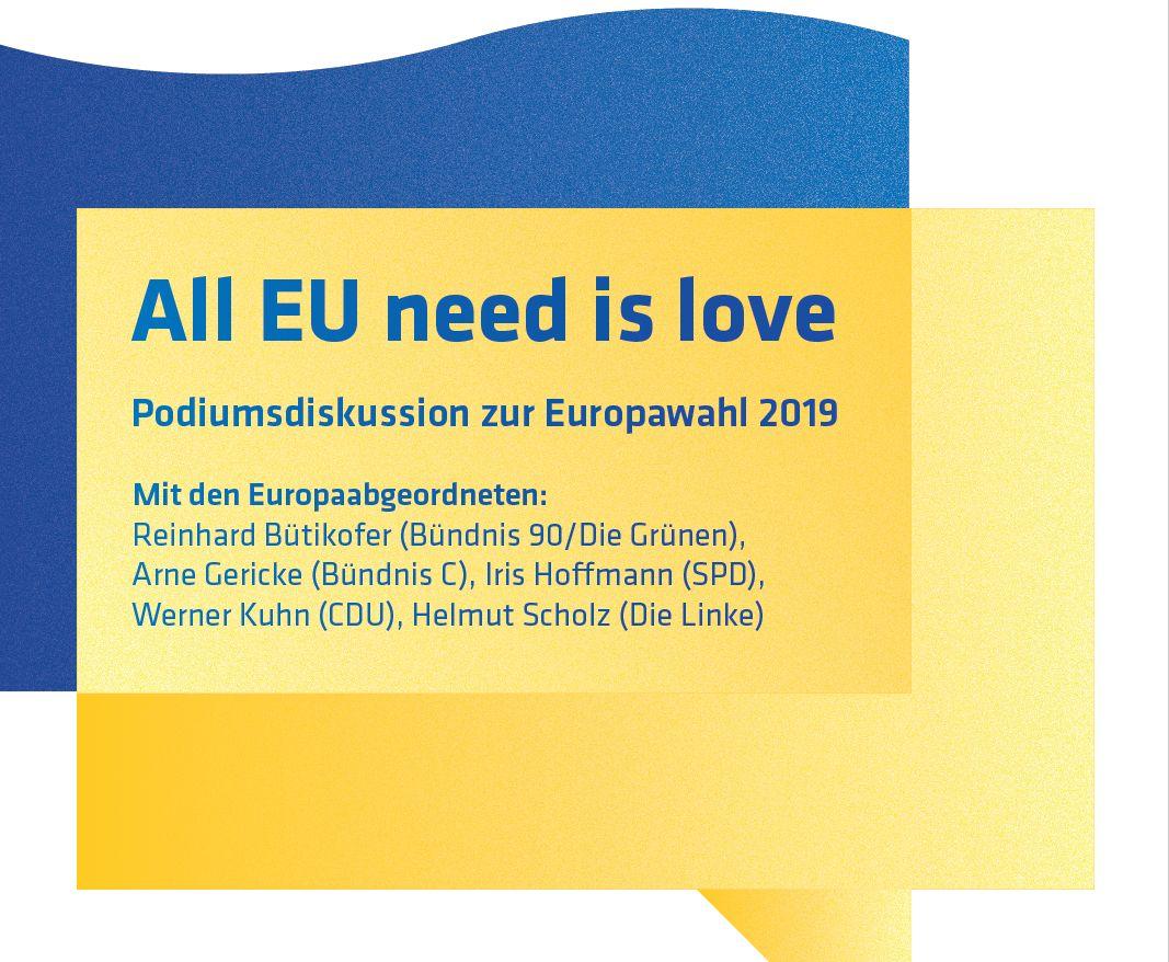 Die Kandidaten zur Europawahl stellen sich vor