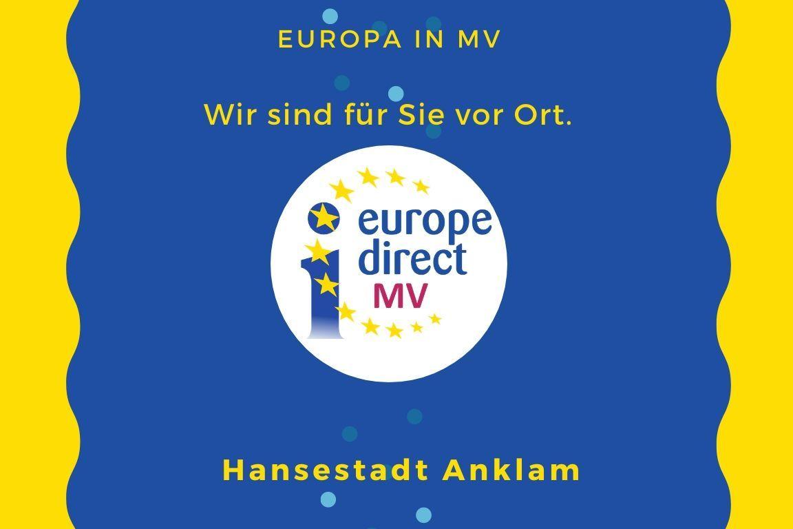 Flying Office in Anklam - Europa vor Ort