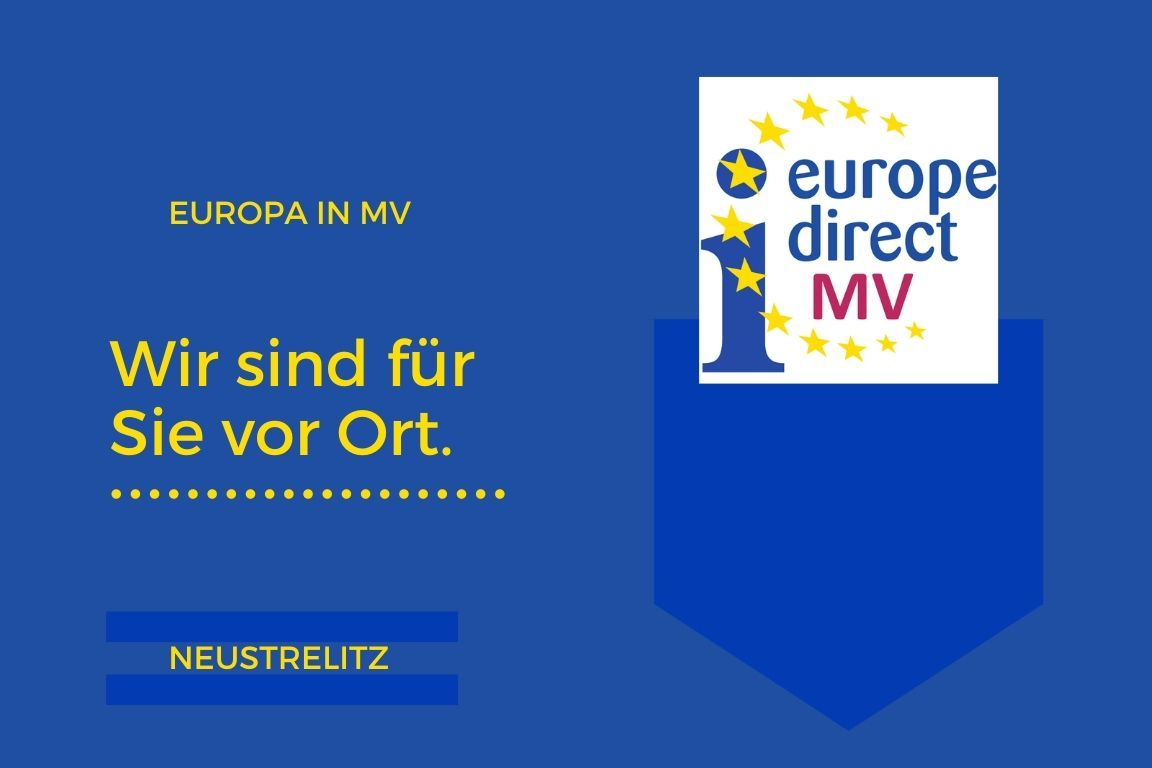 Flying Office in Neustrelitz – Europa vor Ort