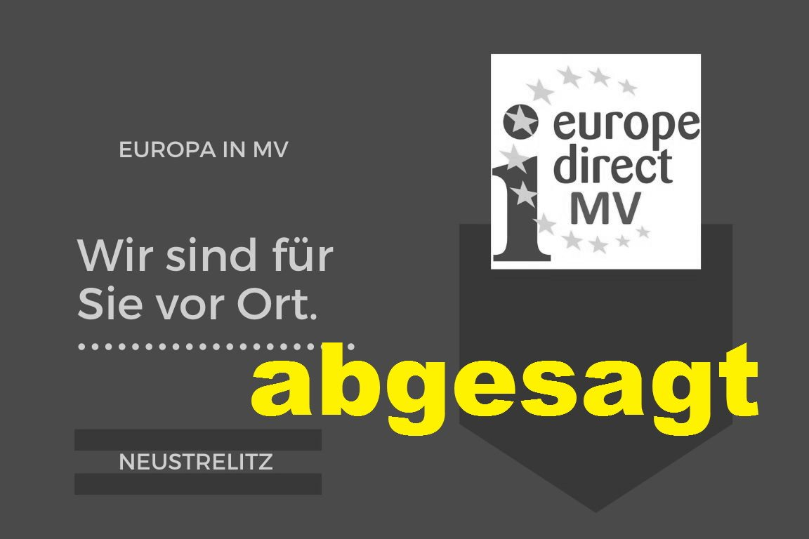 Flying Office in Neustrelitz – Europa vor Ort
