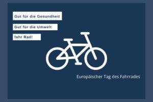 Gut für die Umwelt - Fahrrad fahren
