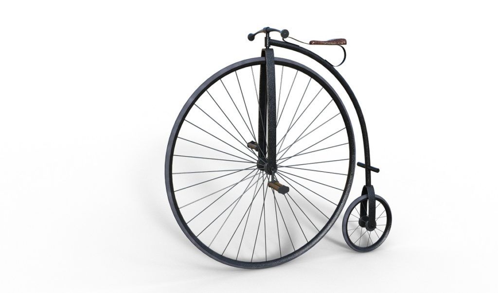 Fahrräder im 19. Jahrhundert
