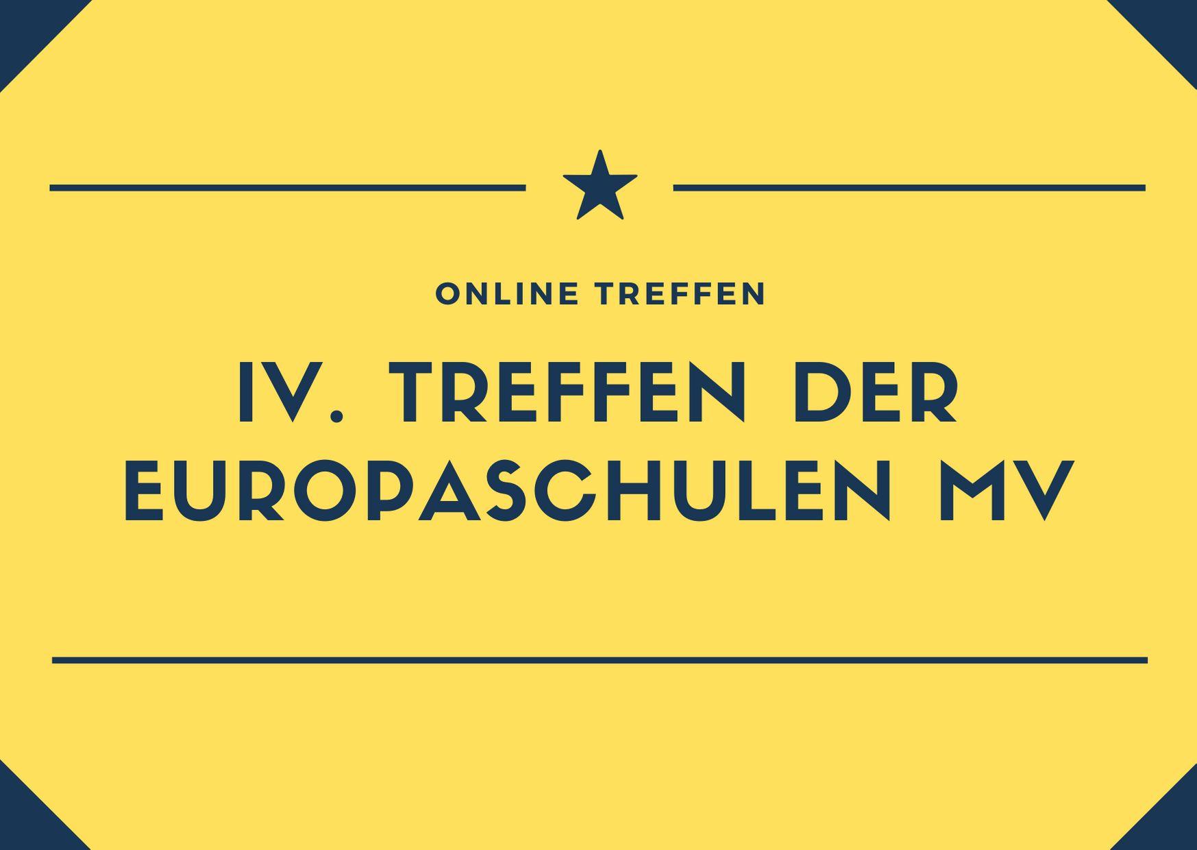 IV. Treffen der Europaschulen in MV