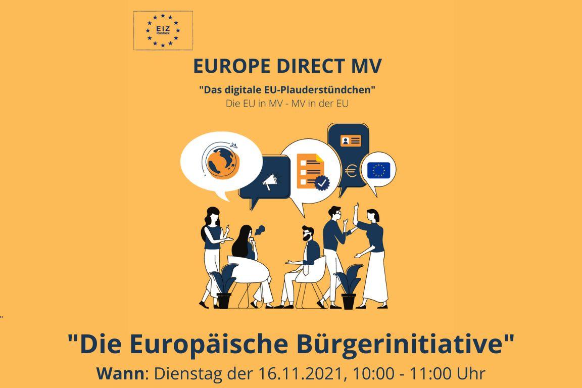 Flying Office: Das digitale EU-Plauderstündchen – Die Europäische Bürgerinitiative