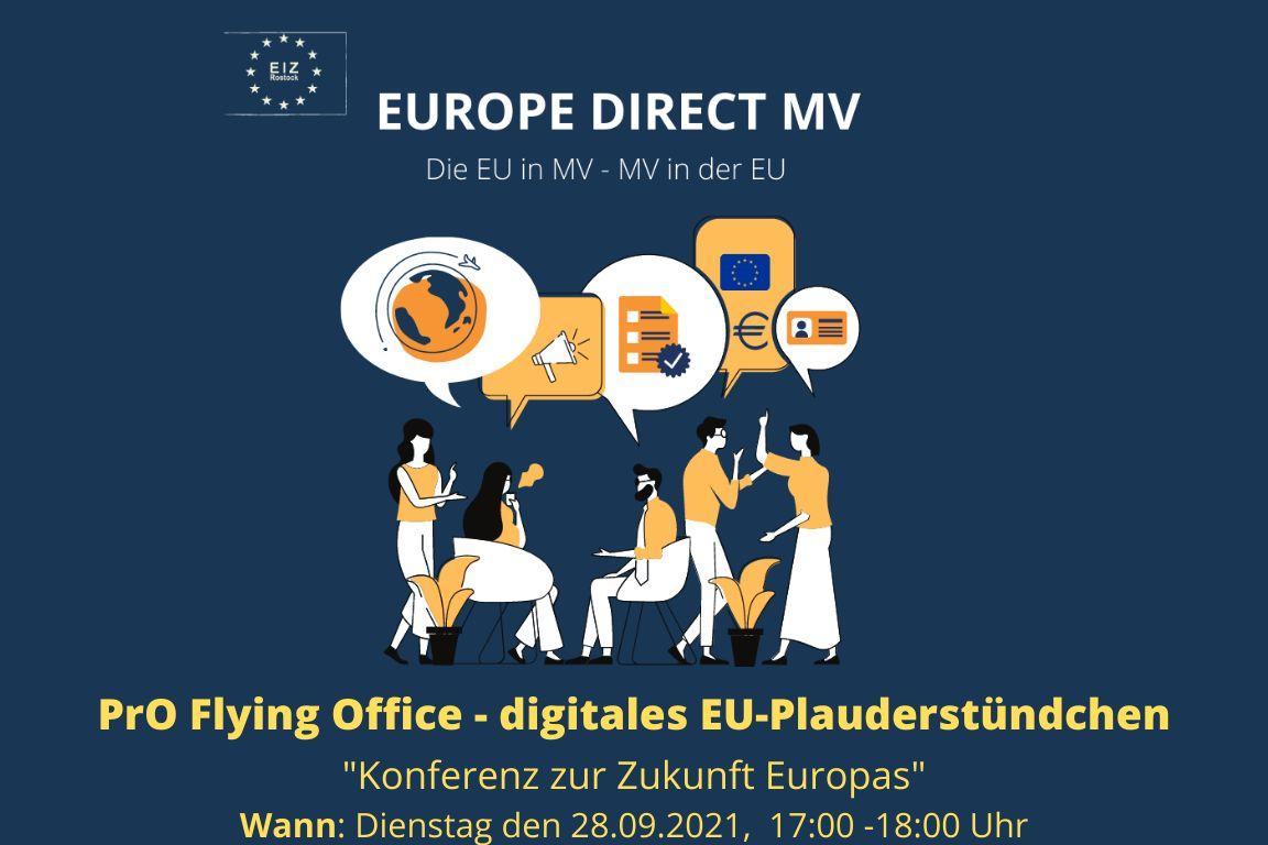Flying Office: Das digitale EU-Plauderstündchen – Konferenz zur Zukunft Europas