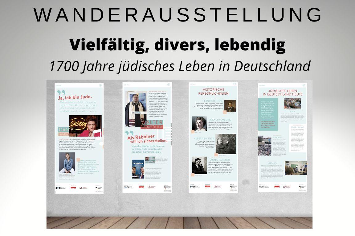 """Ausstellung """"1700 Jahre jüdisches Leben in Deutschland"""""""